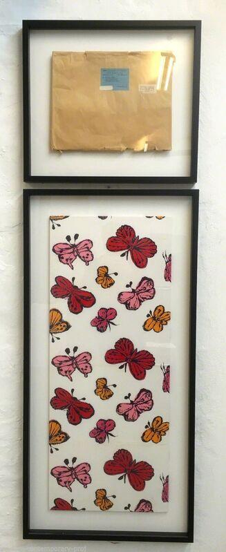 Andy Warhol, 'Butterflies', 1955-1956, Print, Screenprint on fabric., MultiplesInc Projects