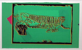 Andy Warhol, 'Vanishing Animals - Mouse Armadillo', 1986