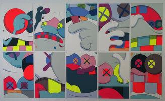 KAWS, 'Blame Game (portfolio of ten prints)', 2014