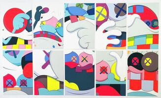 KAWS, 'Blame Game (Complete Portfolio, 10 prints)', 2014