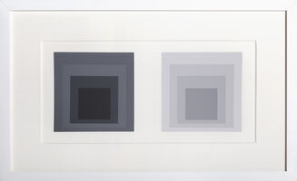 Josef Albers, 'Homage to Square from Formulation Articulation: Portfolio 1, Folder 23, Image 1', 1972
