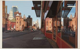 Richard Estes, 'Holland Hotel', 1984