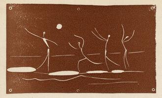 Pablo Picasso, 'Jeu De Ballon sur une Plage', 1957