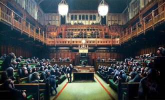Banksy, ''Monkey Parliament', 2009', 2009