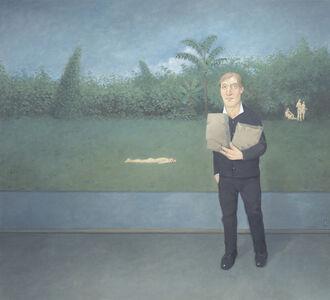 Rodrigo Cunha, 'Interior com Libertinos em um Jardim [Interior with Libertines in a Garden]', 2015