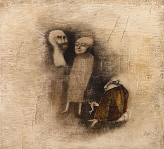 Benjamín Cañas, 'The philosophers', 1970