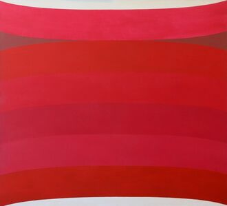 Michael Loew, 'Red Curvature', 1967