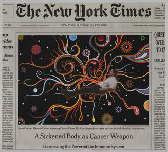 Fred Tomaselli, 'Sunday, July 31, 2016', 2016