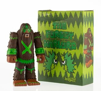 Bigfoot One, 'The Forest Warlord (Brown)', 2012