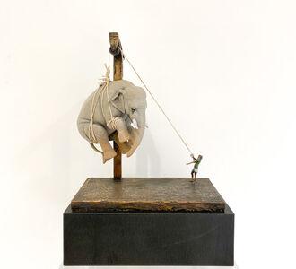 Stefano Bombardieri, 'Elia e l'Elefante mini', 2020