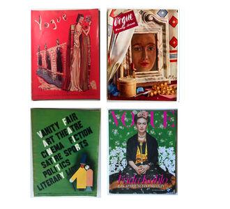 Frida Kahlo, '(4) Magazines- 1931 Vanity Fair, 1936 Vogue, 1937 Vogue, 2012 Mexican Vogue', 1931-1938