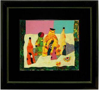Harry Guttman, 'Mixed Media Mod Bottles with Targets, Avant Garde Painting', 20th Century