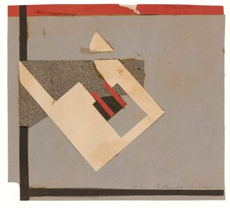 Gertrude Greene, 'Abstract Collage', 1939