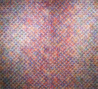 Stephen Giannetti, 'Rorschach For Rothko (Diptych)', 2014