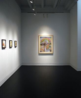Rockne Krebs: The Smoke Drawings, installation view