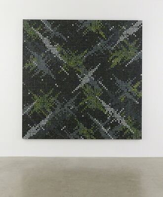 Ding Yi, installation view