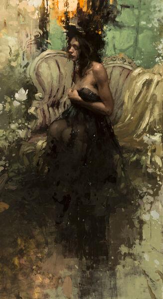"Jeremy Mann, '""In the Garden by Twilight""', 2017"