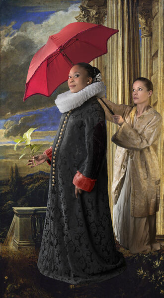 E2 - KLEINVELD & JULIEN, 'Ode to van Dyck's Grimaldi', 2017