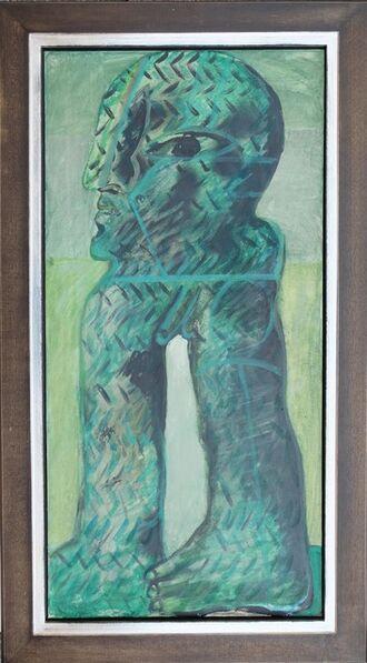 Horst Antes, 'Grüne Figur (Ferraresisch)', 1967