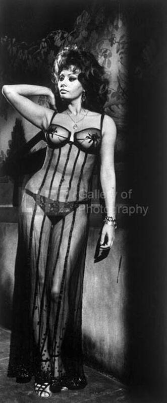 "Alfred Eisenstaedt, 'Sophia Loren in the Film ""Marriage Italian Style""', 1966, Photography, Silver Gelatin Print, Contessa Gallery"