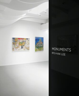 KYU-HAK LEE |  MONUMENTS, installation view