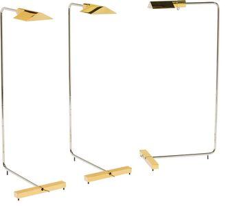 Cedric Hartman, 'Three Floor Lamps Brass'
