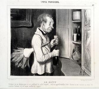 Honoré Daumier, 'Le Gout', 1839
