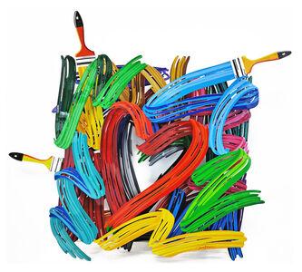 David Gerstein, 'GRAFFITI HEART', 2013