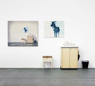 Dieter Mammel, 'Die Ziege im Atelier', 2007