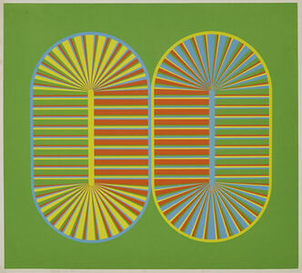 Katie Ohe, 'Orange Two Step; Circle Round About (2)', 1969