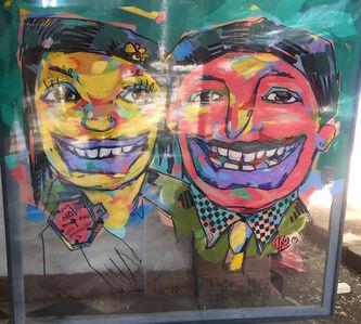 Workneh Bezu, 'Smile Portrait I', 2017