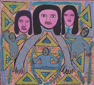 Prospère Pierre-Louis, 'Untitled (Trois Loas)', dated 1979