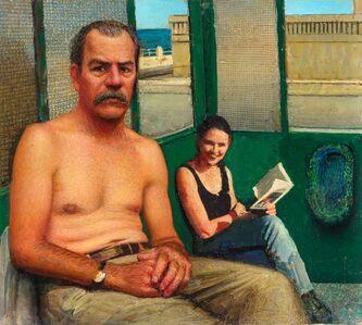 Gregory Gillespie, 'Self-Portrait'