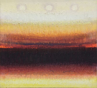Lawrence Calcagno, 'Horizon With Red', 1979