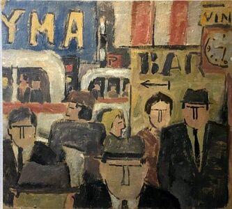 Julio Alpuy, 'Escena de ciudad', 1950-1960