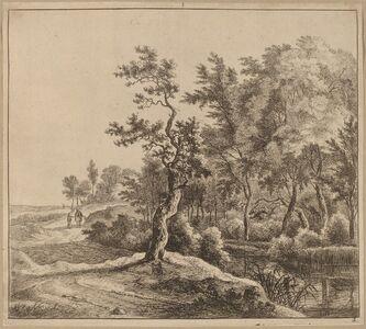 Jan Hackaert, 'Landscape with a Winding Road'