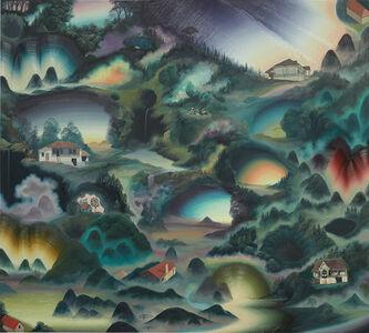 Christian Hidaka, 'Pine Trees and Pavillions', 2008