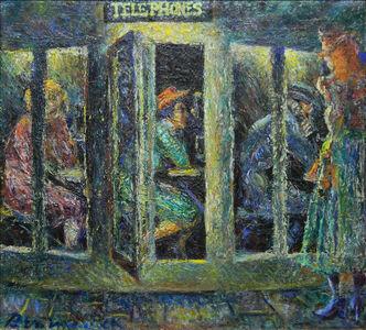 Ben Messick, 'Telephones', ca. 1940