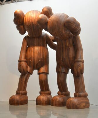 KAWS: WHERE THE END STARTS, installation view