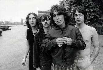 The Beatles (John Lennon, Ringo Starr, George Harrison, Paul McCartney)