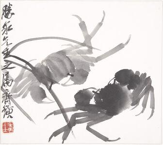 Qi Baishi, 'Crabs', ca. 1930