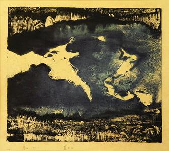 Chu Weibor, 'Blue & White (1) 藍與白(一) ', 1971