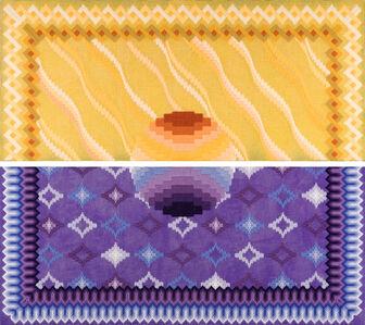 Cecilia Charlton, 'The dawn of a new day [purple and yellow]', 2020