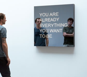Jeppe Hein, 'YOU ARE ALREADY EVERYTHING YOU WANT TO BE', 2016