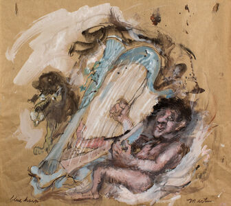 James Martin, 'Blue Harp'