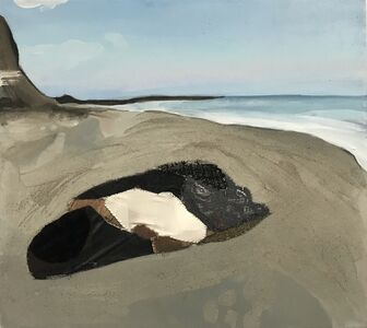 Melora Griffis, 'her rock', 2018