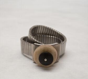 Gillian Carrara, 'Stainless Bracelet with Horn and Bone Element', 2012