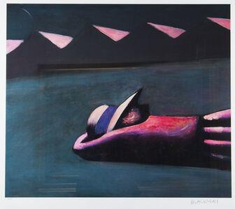 Charles Blackman, 'Prone Schoolgirl', 1953