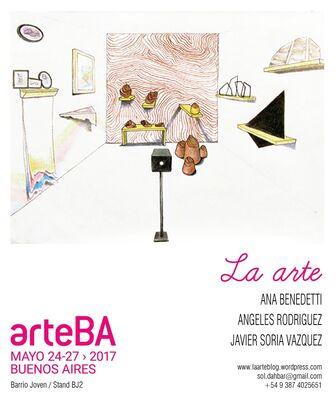 LA ARTE at arteBA 2017, installation view
