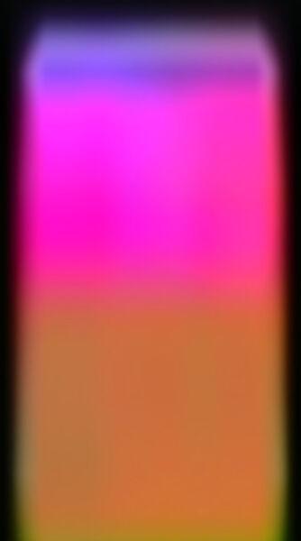 Richard Garet, 'perceptual series, glowing wedge', 2015